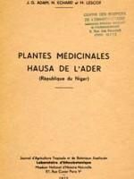 Plantes médicinales Hausa de l'Ader (République du Niger)