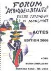 Forum «afrique et beauté»