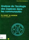 Analyse de l'écologie des espèces dans les communautés
