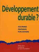 Développement durable ? Doctrines. Pratiques. Evaluations