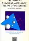 Des diathèses à l'immunomodulation : 200 ans d'homéopathie – L'évolution de la recherche en homéopathie