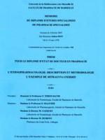 L'ethnopharmacologie : description et méthodologie – l'exemple de mitragyna inermis