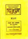 Encyclopédie biologique XLII : Flore des lichens de France et de Grande-Bretagne