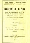 Nouvelle Flore pour la détermination facile des plantes de la région parisienne et des espèces communes en France, avec l'indication des fleurs mellifères
