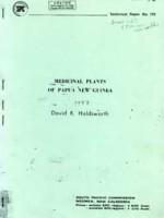 Medicinal plants of papua new guinea