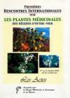 Les plantes médicinales des régions d'outre-mer