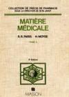 Précis de matière médicale