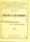 Notice pour les récolteurs de plantes médicinales