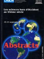 Les sciences hors d'Occident au Xxème siècle