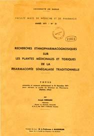 Recherche ethnopharmacognosiques sur les plantes for Recherche sur les plantes