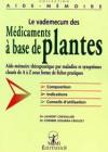 Le vademecum des Médicaments à base de plantes